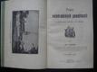 Popis Velehradských památností s půdorysem kostela a 15 obrazy
