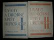 Úvahy a drobné spisy historické I-II