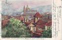 Praha. Pohled z Belvederu královny Anny.