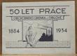 50 let práce obchodního gremia v Orlové  1884-1934