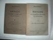 Katalog hudebních archivů čs.rozhasu I-II