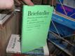 Briefsteller - příručka písemného styku