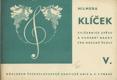 Klíček V. Cvičebnice zpěvu a hudební nauky...