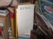Kytice - měsíčník pro literaturu a umění