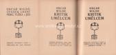 Úpadek lhaní, Péro, tužka a jed; Kritik umělcem (2 knihy v jednom svazku)