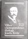 Výbor z korespondence filologa Josefa Krále