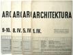 Architektura 1,5,8,9 / IV (1942)